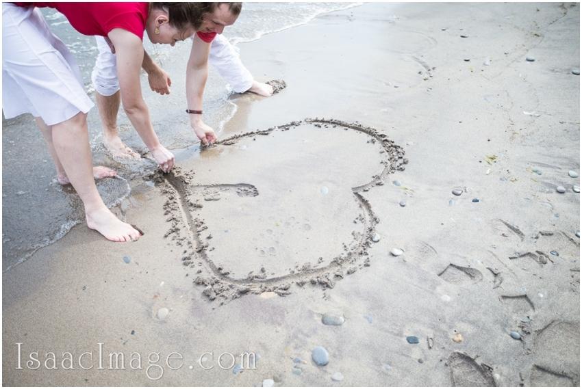 heart love toronto islands engagement