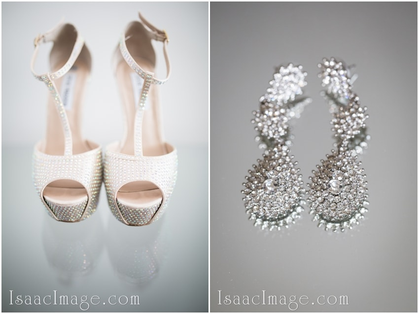 wedding earring shoes