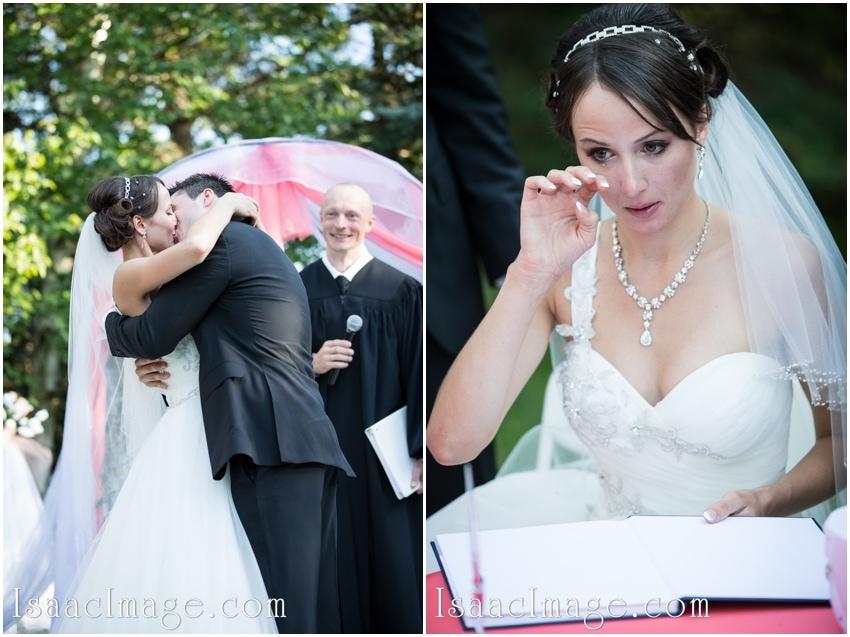ceremony bride crying