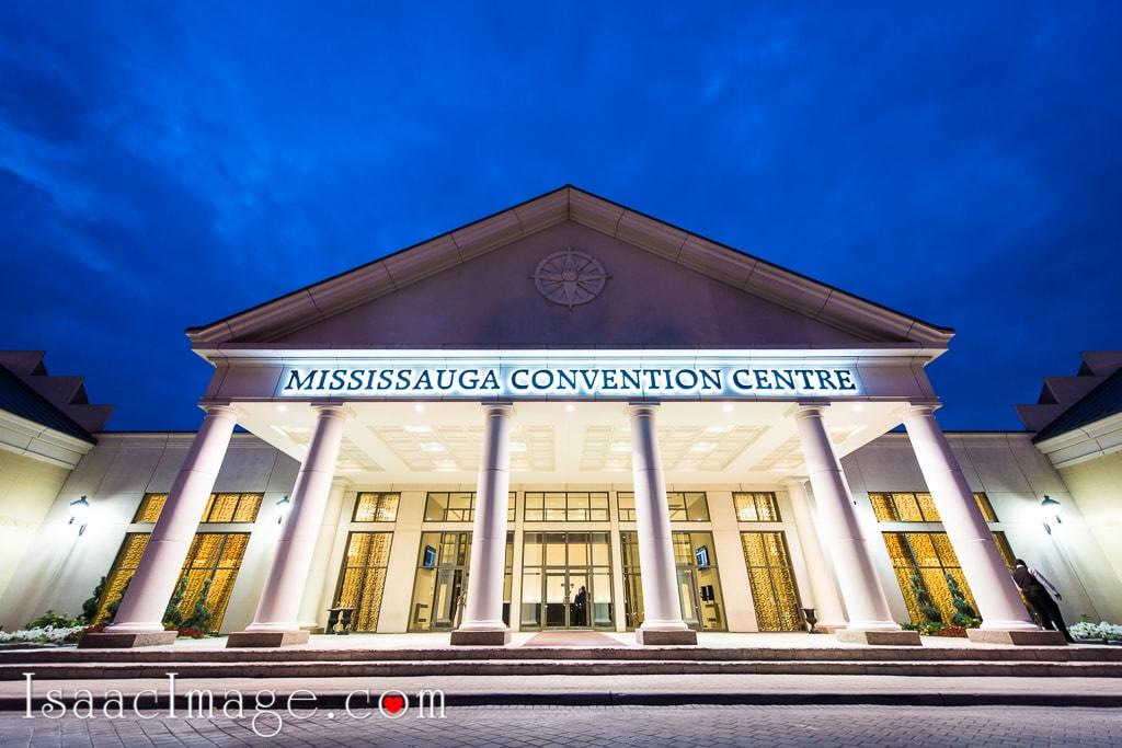Mississauga Convention Centre Nikon d810 Wedding