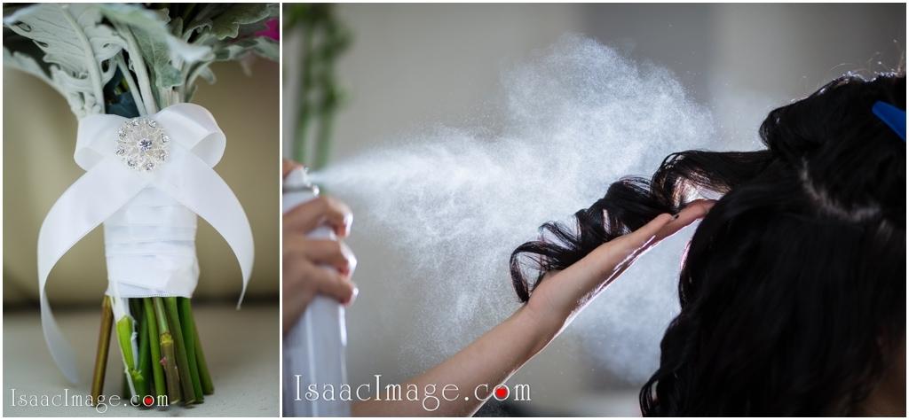wedding spray shot