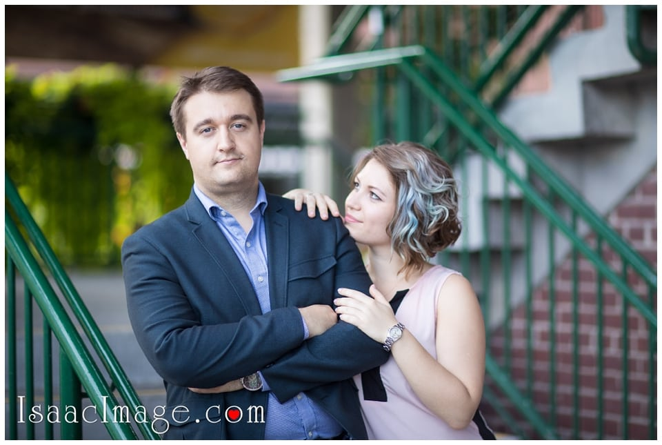 Distillery district Toronto engagement photo session Alexandra and Konstantine_0217.jpg
