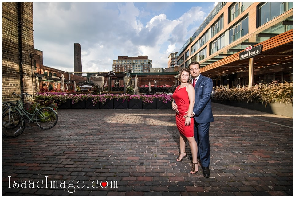 Distillery district Toronto engagement photo session Alexandra and Konstantine_0237.jpg